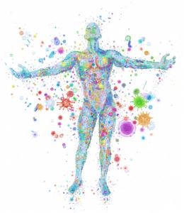 El microbioma humano es el conjunto de microorganismos que conviven en el cuerpo humano.